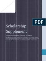 Scholarship Supplement