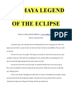 The Maya Legend of the Eclipse (Guatemala)