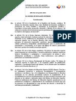 Reglamento de La EaD Tema 2 (Opcional)