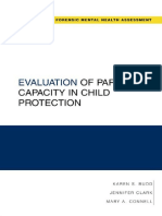 Budd ET AL Evaluation of Parenting Capacity in Child Protection