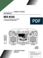 JVC-MX-K50