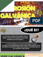 Exposicion de Corrosion Galvanica