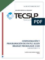 Lab4-Configuración y Programación de Un Plc Allen Bradley Micrologix 1100