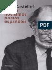 Castellet- Nueve Novísimos Poetas Españoles Prólogo y Mínima Selección