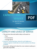 Lecture 14b Vehicular Capacity and Los
