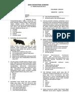 Ujian Keanekaragaman Hayati Ipa 3-10-17