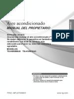 Lg Ts h186c8u0 Manual de Usuario