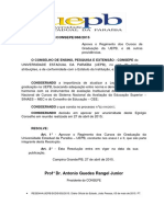 068 2015 Aprova o Regimento Da Graduação