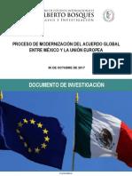 30-10-17 Proceso de modernización del acuerdo global entre México y la Unión Europea