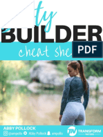 TFN Booty Builder Cheat Sheet