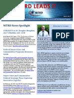 NITRD NewsLetter - April 2017