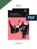 IONESCO. Rinoceronte (Losada)