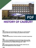 Cadbury Operations project