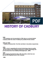 Cadbury Operations project