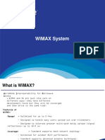 WiMAX System Overview