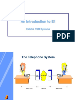 An Introduction to E1 2Mbit/s PCM Systems