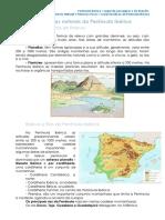 Ficha Formativa_1.2 Características Naturais Da Península Ibérica