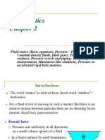 Chapter 2 - Fluid Statics