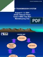 PDH/SDH TRANSMISSION SYSTEM