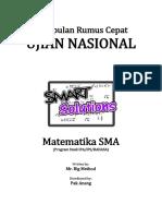 Kumpulan Materi UN SMA Matematika IPA Dan IPS -Edukasicampus.net