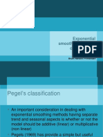 Course 4 Pegels Classification