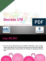 Seminario n°1 Decreto 170