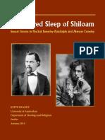 The Sacred Sleep of Shiloam - Keith Readdy