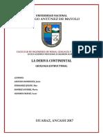 Geologia Estructural La Deriva Continental