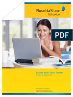 B - Rosetta Stone English Contents_Programa