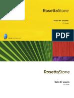 A - Rosetta Stone - Guía Del Usuario en Línea