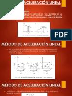 Método de Aceleración Lineal Expo