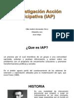 La Investigación Acción Participativa (IAP) (1)
