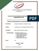 Registro de Gastos y Complementarios