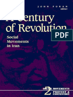 (Social Movements, Protest, And Contention) John Foran-A Century of Revolution_ Social Movements in Iran-University of Minnesota Press (1994)