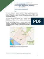 BCRP Tacna Caracterizacion