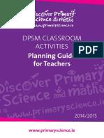 Dpsm Classroom Activity Teachers Guide