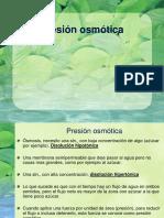 Clase Presion Osmotica