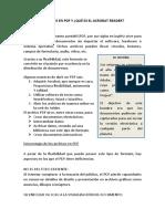 Archivos en PDF y Acronat Reader
