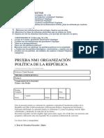 Pruebas Democracia en Chile