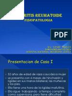 Artritis Reumatoide 2016 Clases Unmsm