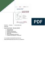 MUSILAND Monitor 04 MX Quick Start Guide