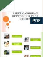 Askep Gangguan Reproduksi Pada Uterus