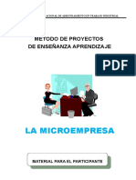 1. Microempresa(Participante)