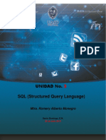 Unidad 3 SQL Structured Query Language