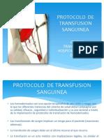 Protocolo de Transfusion Sanguinea-1