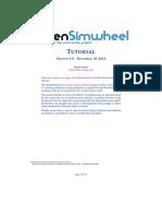 OpenSimwheel Tutorial