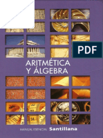 Aritmetica y Algebra Para Funciones- Santillana