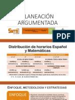 PLANEACION ARGUMENTADA SENTE 2017