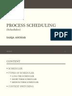 SCHEDULER(Process Scheduling )