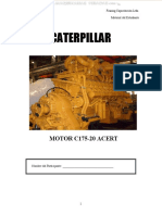 Manual Motor c175 20 Acert Caterpillar Sistemas Admision Escape Refrigeracion Lubricacion Combustible Aire Finning